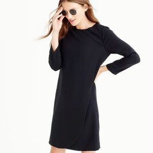 J.Crew Overlapped long-sleeve shift dress NWT
